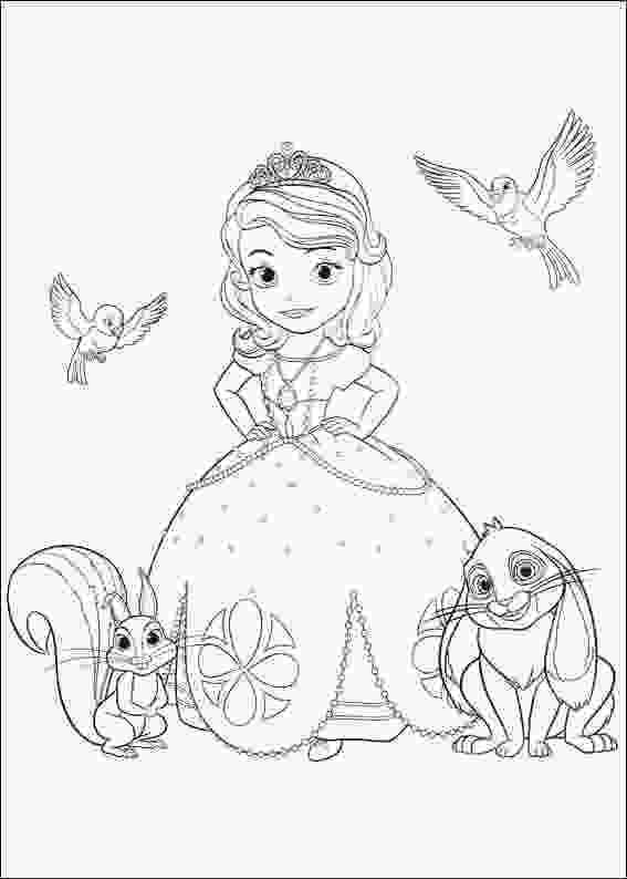 sofia coloring page 15 free printable sofia the first coloring pages
