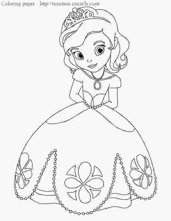 sofia coloring page 45 princess sophia coloring pages sofia the first