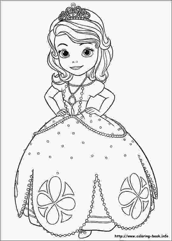 sofia coloring page sofia the first coloring pages fotolipcom rich image