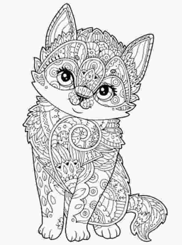 animal coloring pages online coloring page animals for teens and adults desene