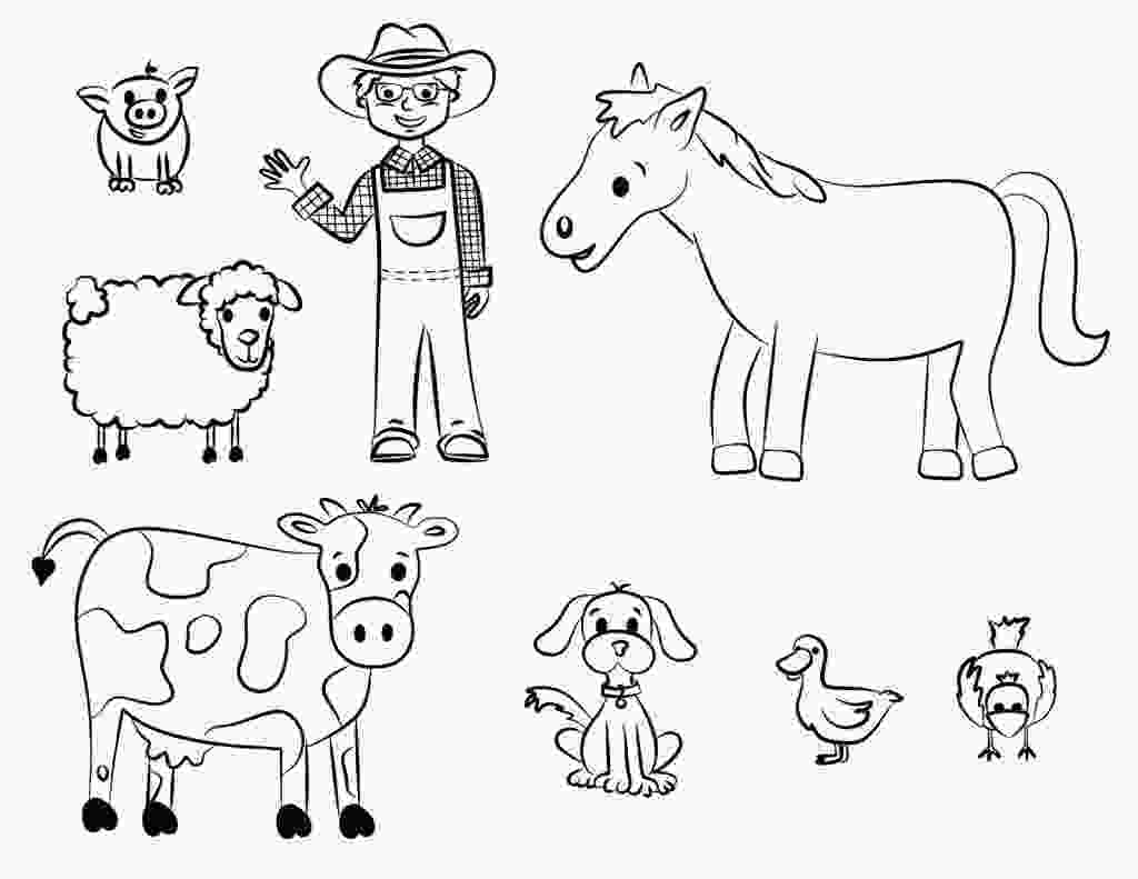 animal coloring pages online free printable farm animal coloring pages for kids