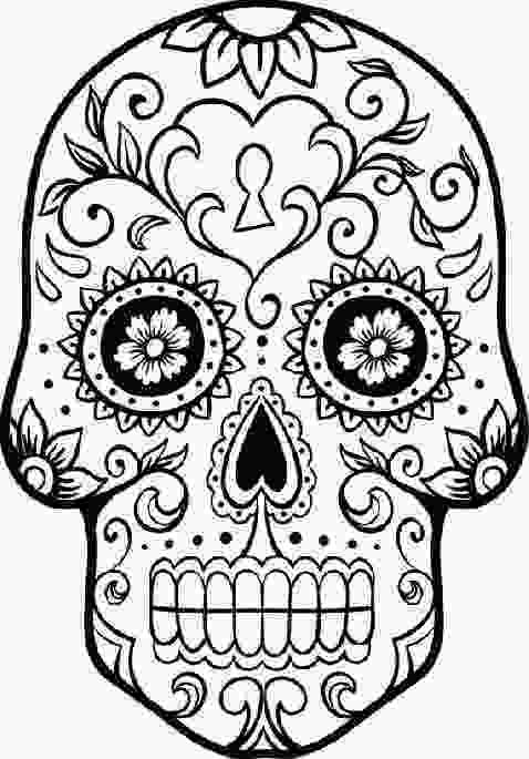 el dia de los muertos skull coloring pages free printable day of the dead coloring pages best 1