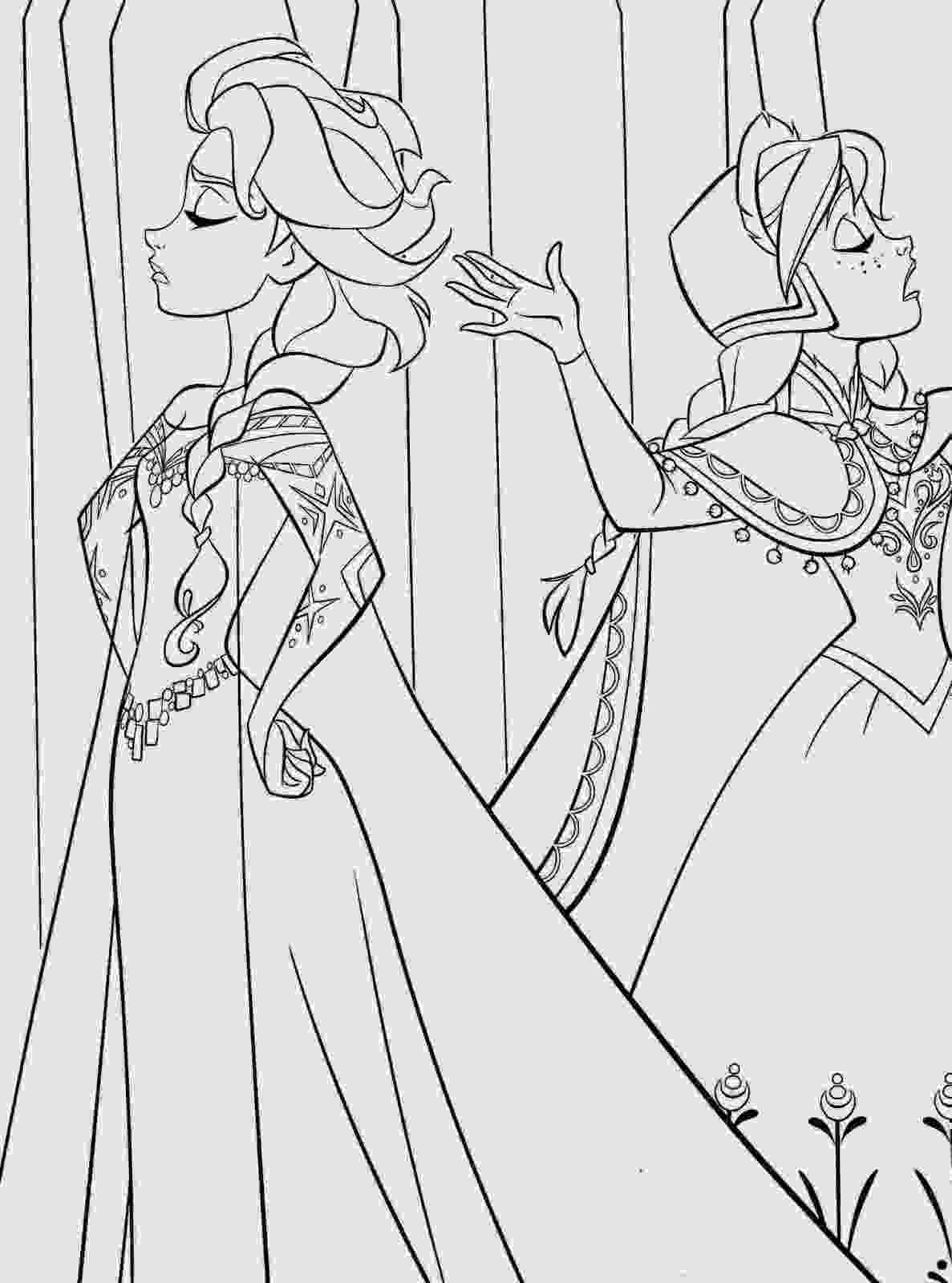 frozen coloring sheet 17 best beautiful coloring pages frozen ready to print