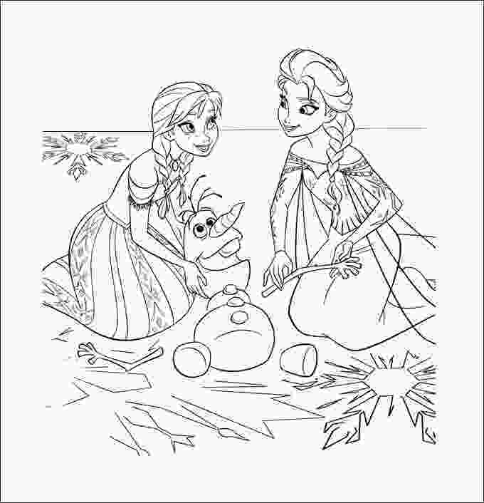 frozen coloring sheet 28 frozen coloring page templates free png format