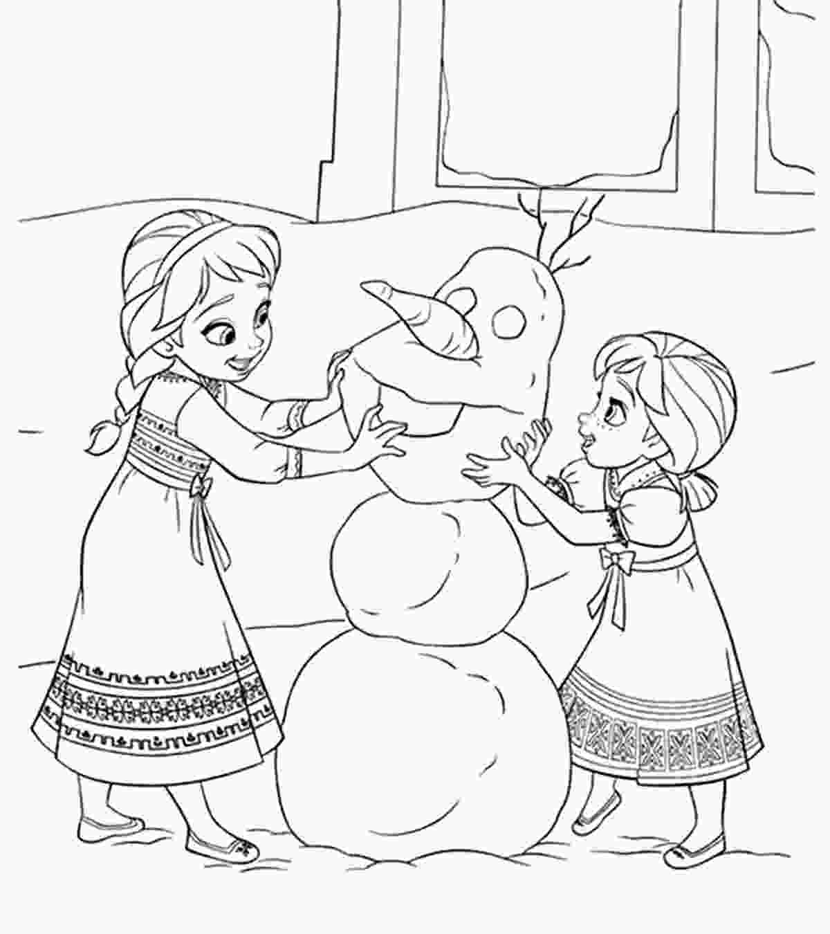frozen coloring sheet disney coloring pages momjunction