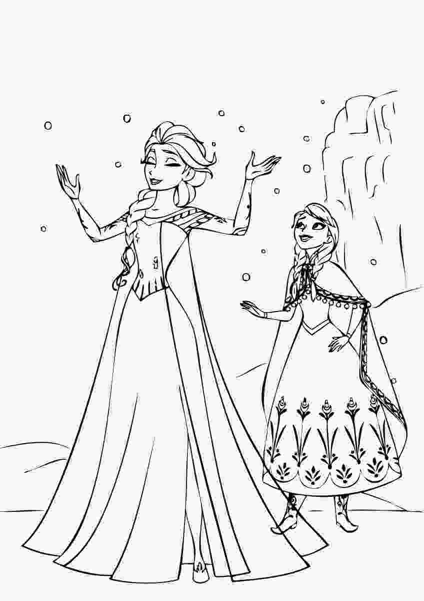 frozen coloring sheet september 2014 instant knowledge