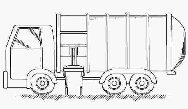 garbage truck coloring page pdf download online coloring pages for free 2
