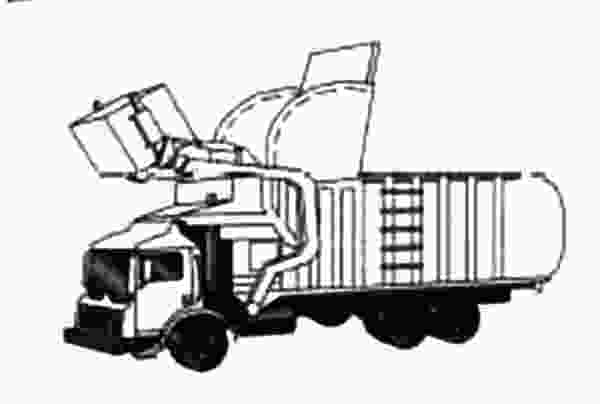 garbage truck coloring page pdf download online coloring pages for free 3