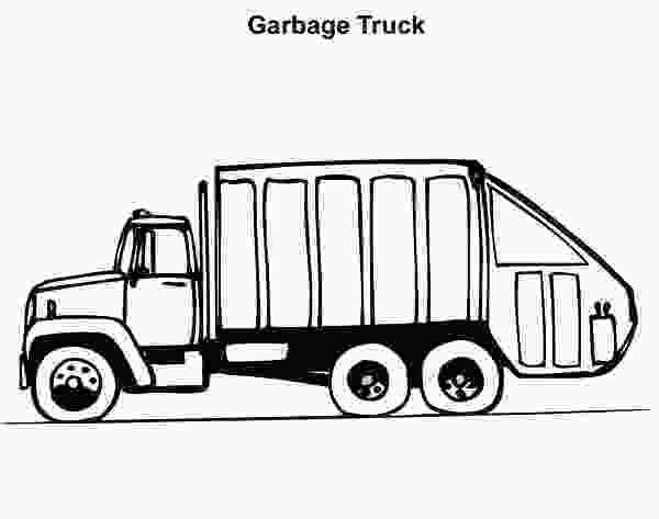 garbage truck coloring page pdf download online coloring pages for free 4