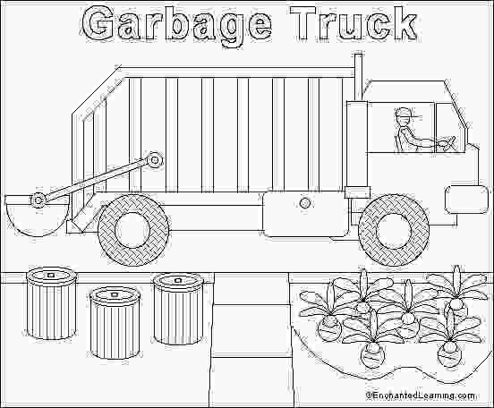 garbage truck coloring page pdf dump truck coloring pages bestofcoloringcom