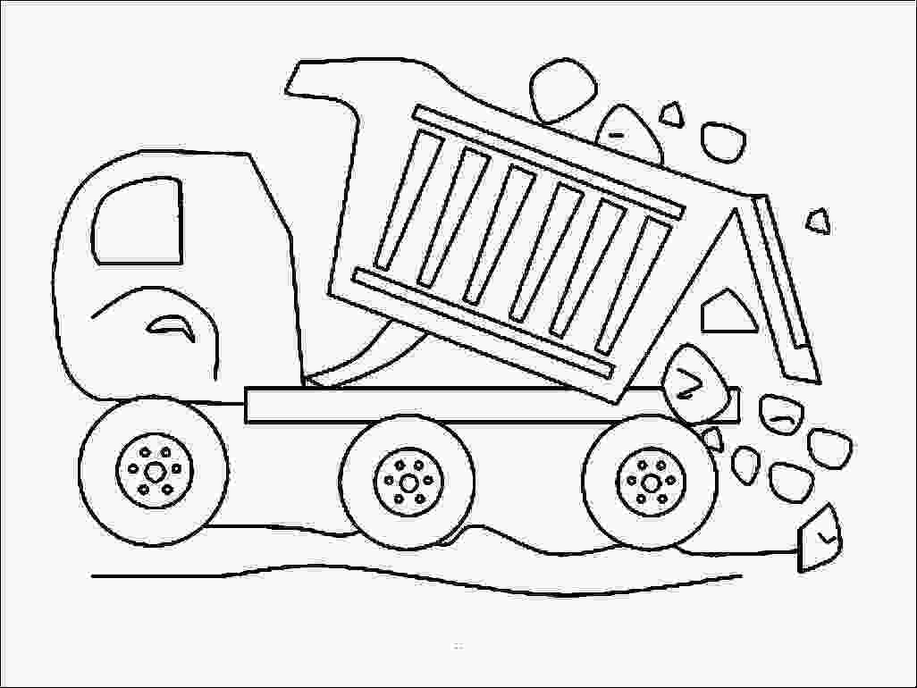 garbage truck coloring page pdf garbage truck coloring page at getcoloringscom free