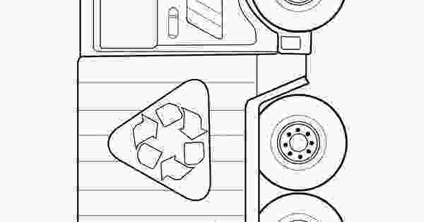 garbage truck coloring page pdf garbage truck coloring pages for kids grbtrck