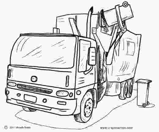 garbage truck coloring page pdf main image for the garbage truck coloring page coloring
