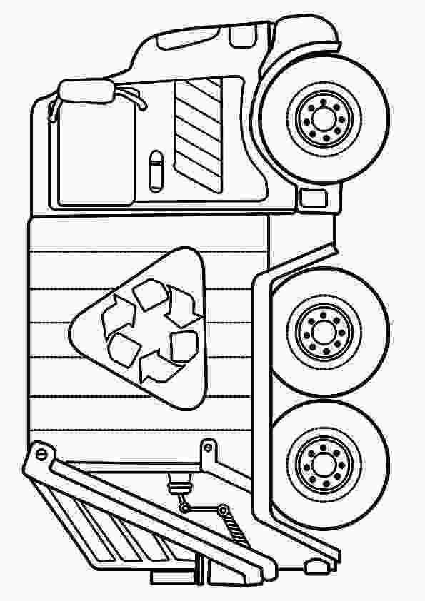 garbage truck coloring page pdf top 10 dump truck coloring pages for your toddlers