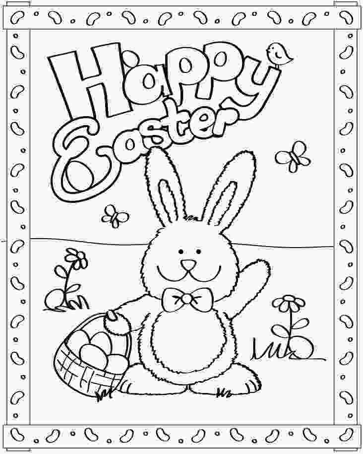 happy bunny coloring pages happy easter school easter bunny colouring easter