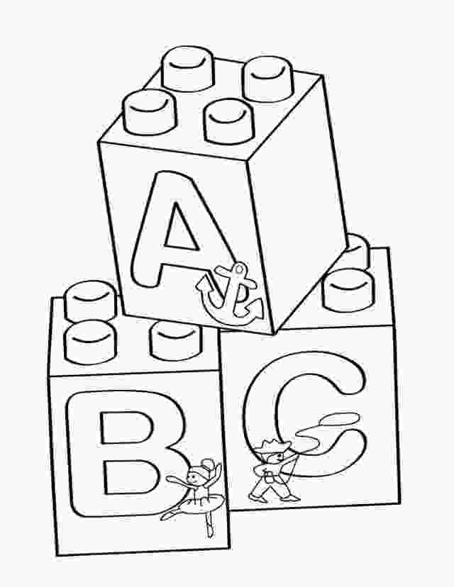lego block coloring pages lego abc blocks coloring page free printable coloring