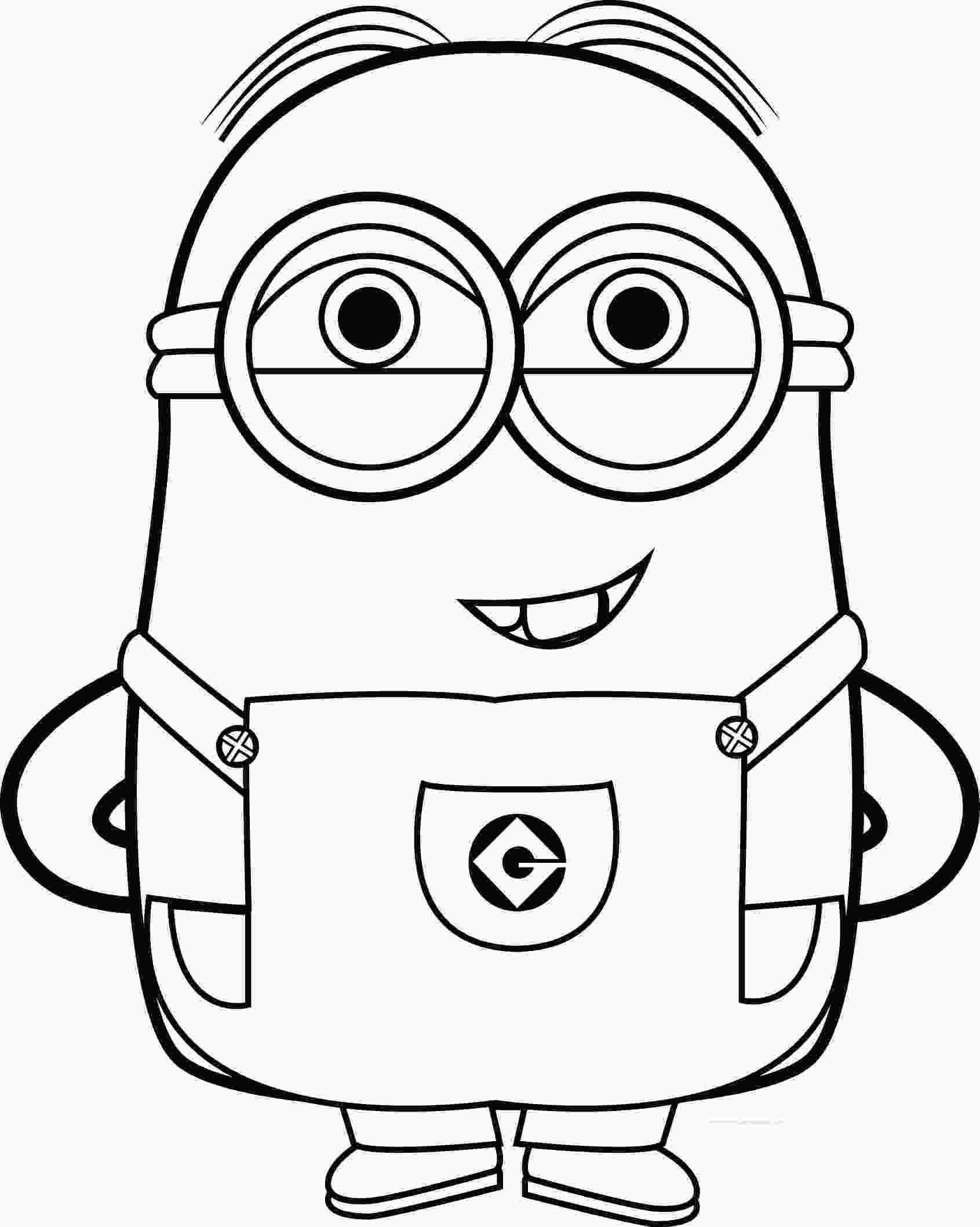 minions for coloring best funny minions quotes and picture coloring page