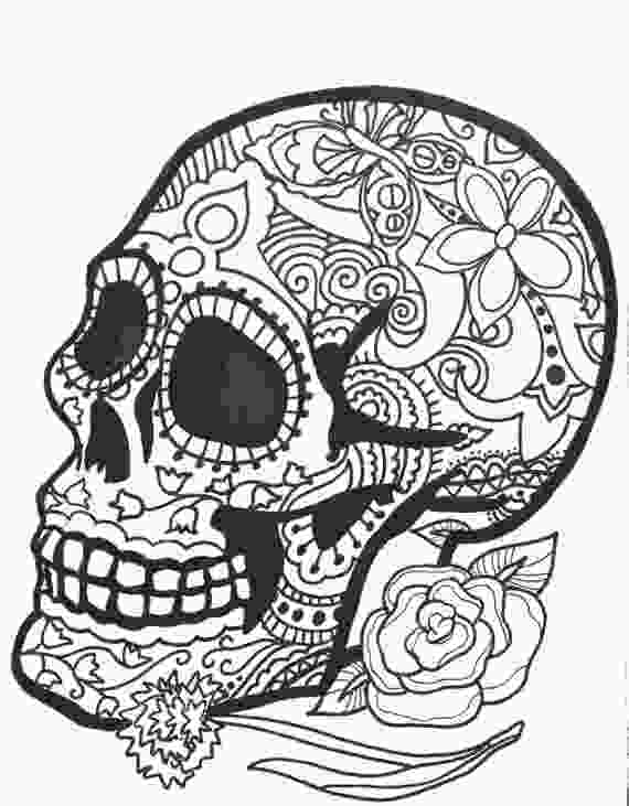 skulls coloring pages 10 more sugar skull day of the dead original art coloring book