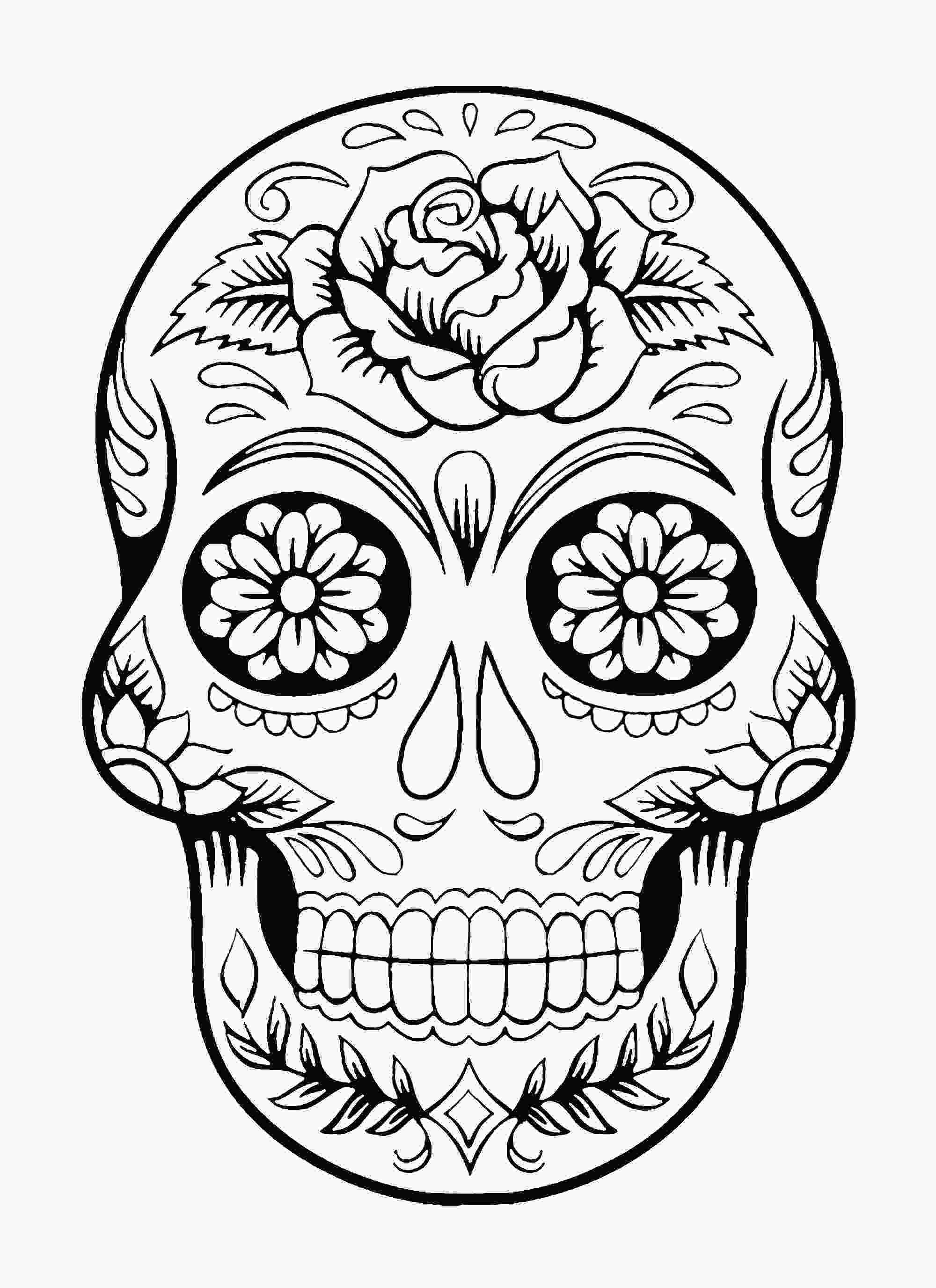 skulls coloring pages skull coloring pages for adults