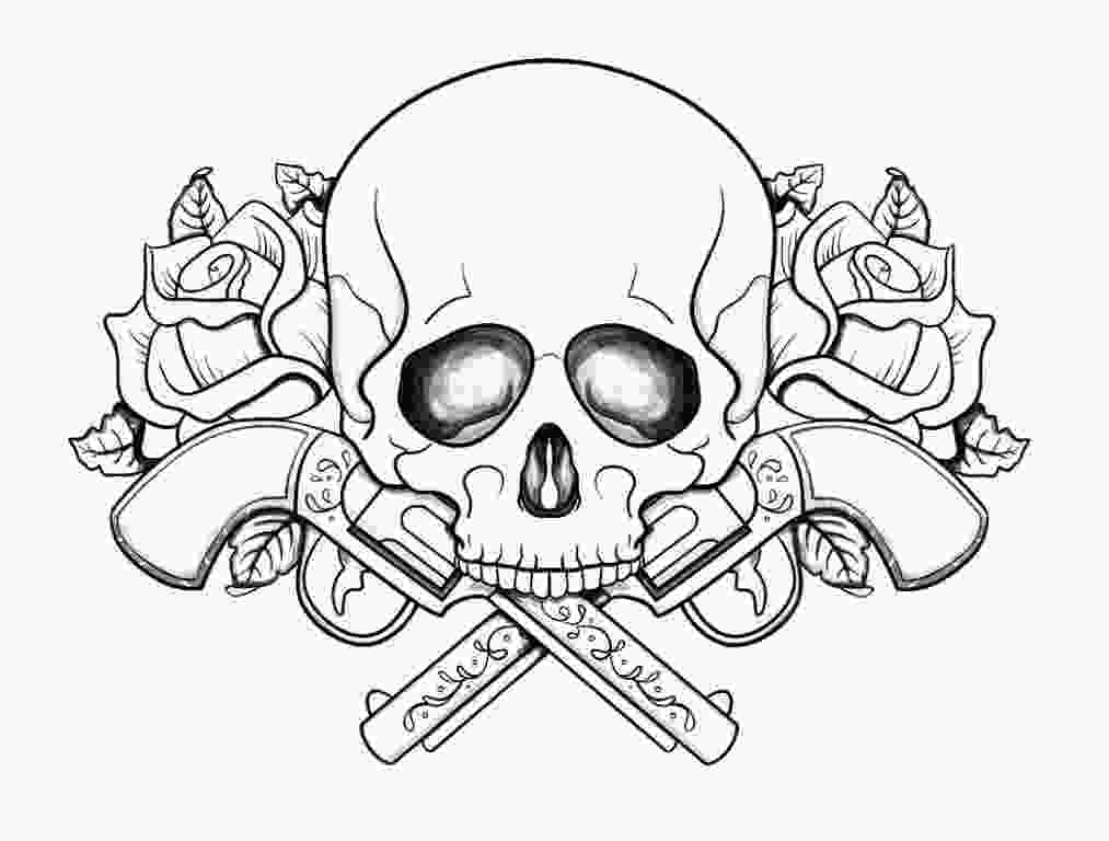 skulls coloring pages skull coloring pages for teenagers coloring pages
