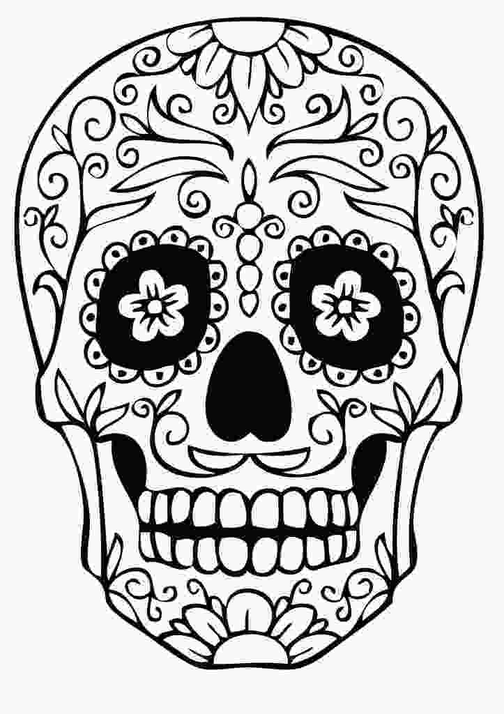 skulls coloring pages sugar skull coloring pages best coloring pages for kids 1