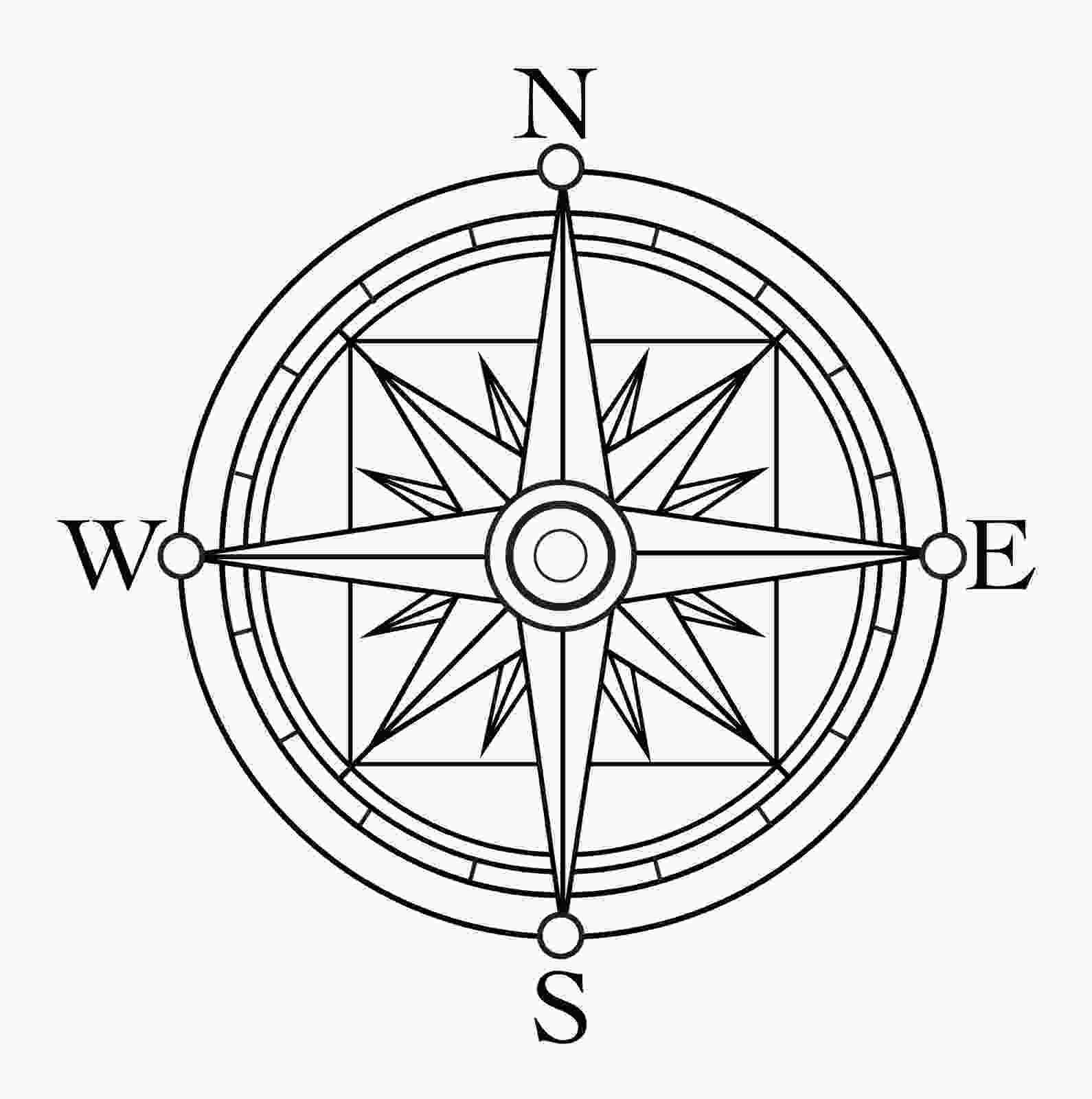 star printout compass clipart 3854 free clipart images clipartwork