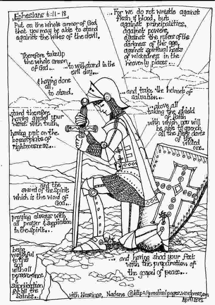 armor of god coloring page free armor of god poster for boys and girls armor of god
