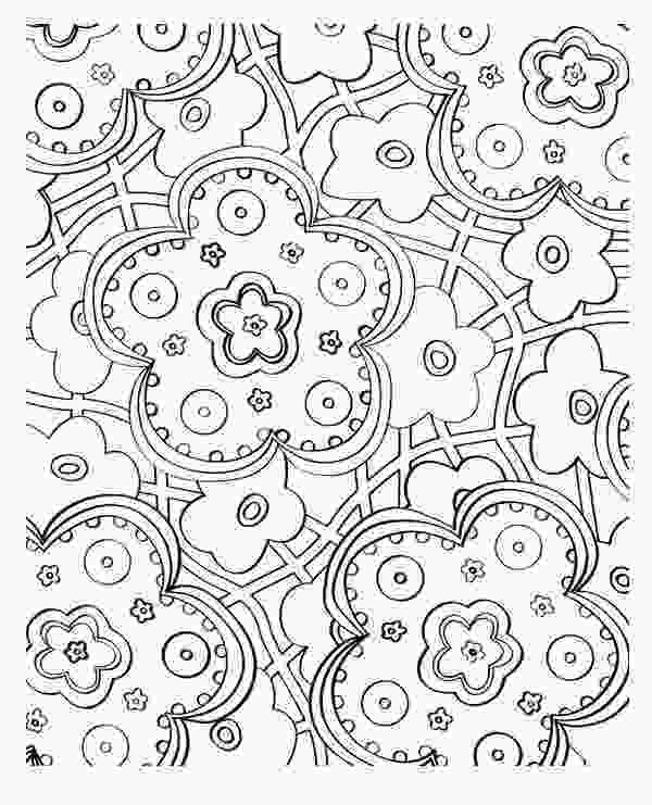 beautiful flower coloring pages beautiful flower mosaic coloring page download amp print