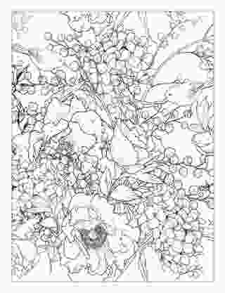 beautiful flower coloring pages beautiful flowers detailed floral designs coloring book 3