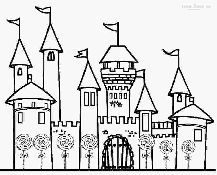 castle coloring page castle coloring pages to download and print for free
