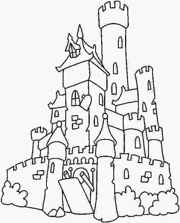 castle coloring page free printable castle coloring pages for kids