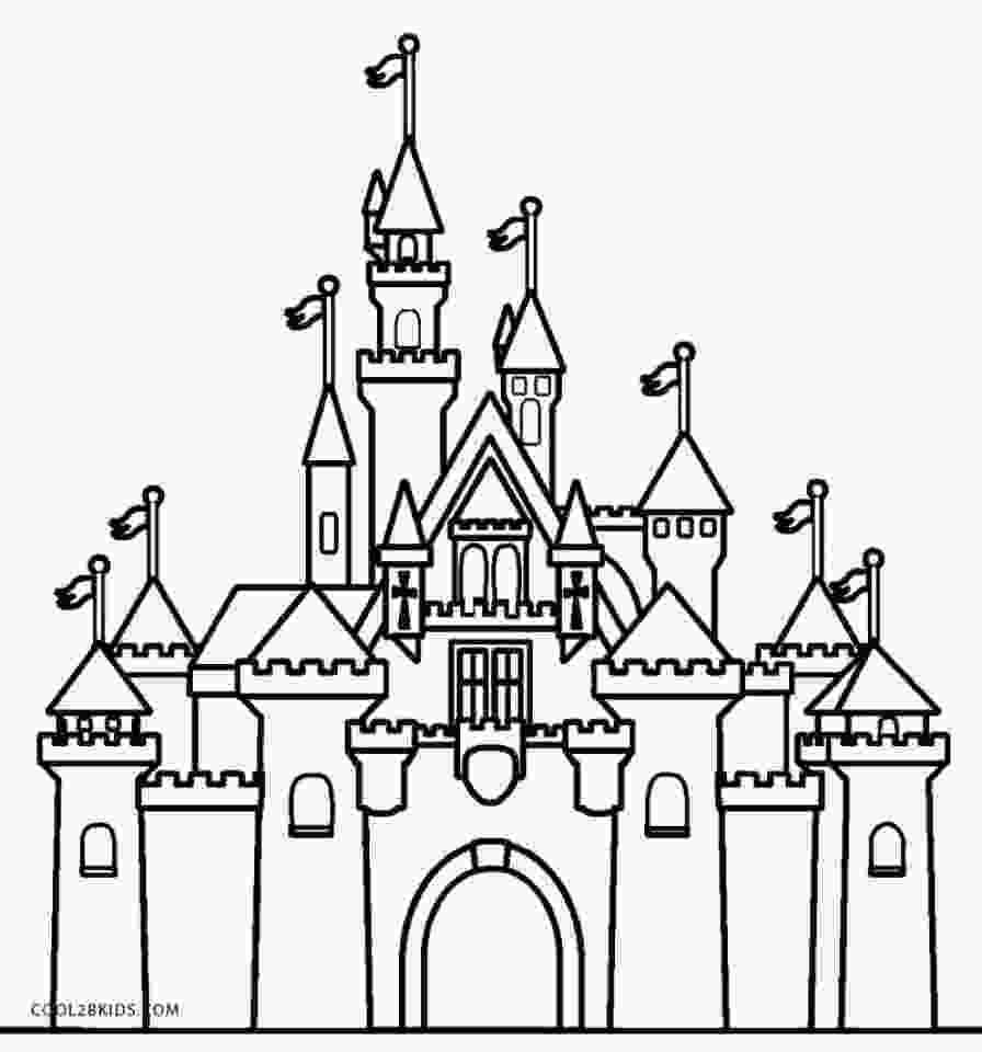 castle coloring page get this castle coloring pages free bgo7