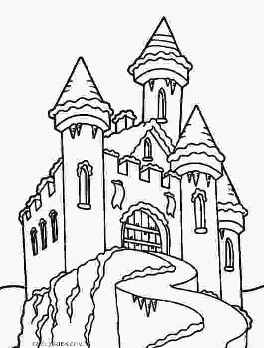 castle coloring page printable castle coloring pages for kids cool2bkids