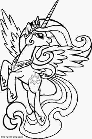 celestia pony coloring page my little pony coloring pages princess celestia part 8