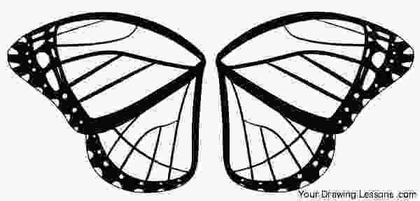 coloring butterfly wings how to draw a monarch butterfly your drawing lessons