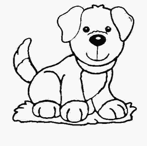 colouring pages of dog dog coloring pages for kids preschool and kindergarten 1