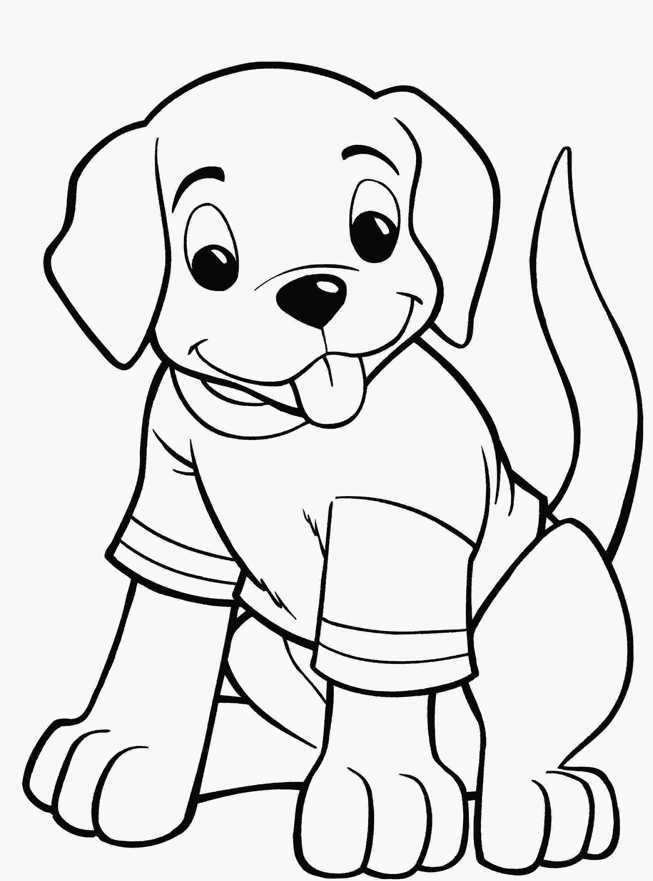 colouring pages of dog dog coloring pages for kids preschool and kindergarten
