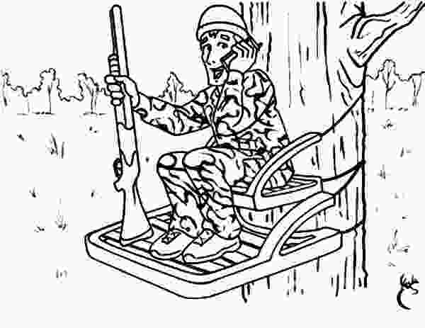 duck hunting coloring pages hunting from top of tree coloring pages hunting from top