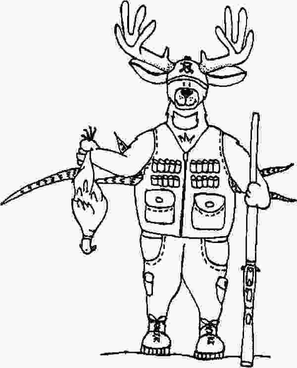 duck hunting coloring pages omnok the hunter hunting with bow and arrow coloring pages