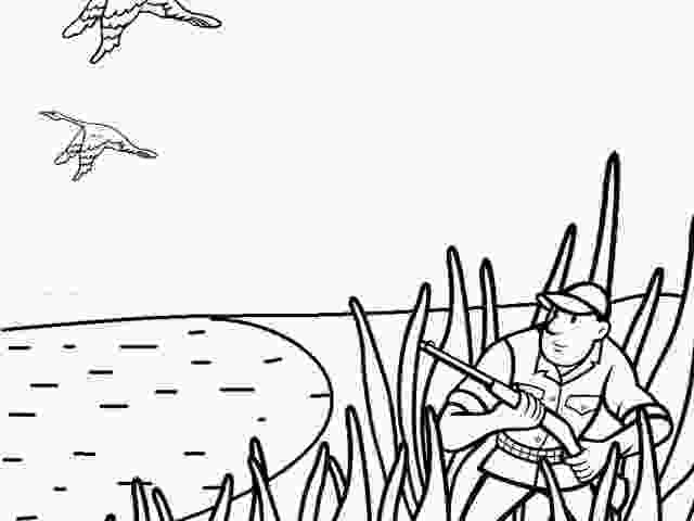 duck hunting coloring pages spring coloring pages free download clip art carwadnet