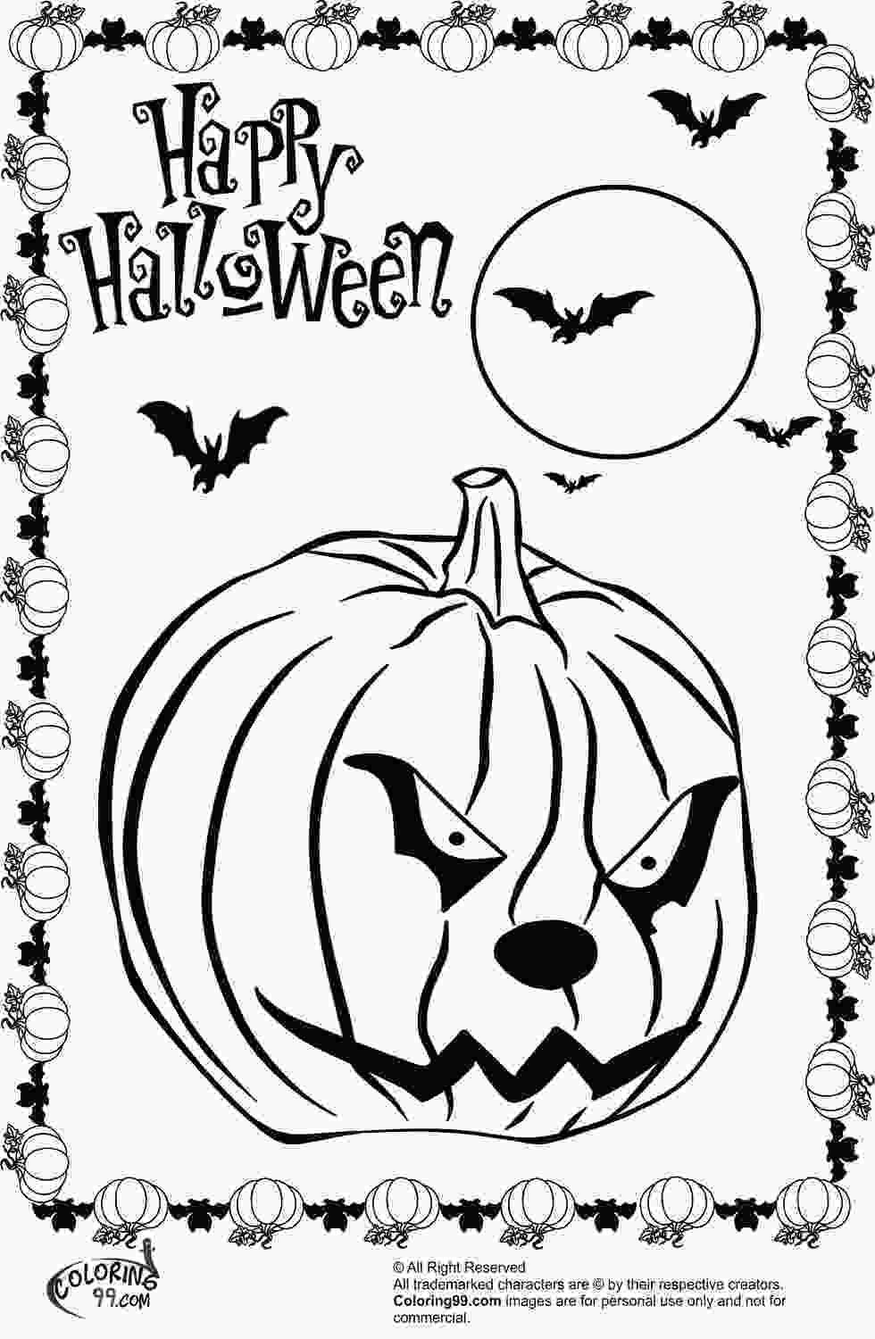 halloween cat coloring pages scary halloween pumpkin coloring pages team colors