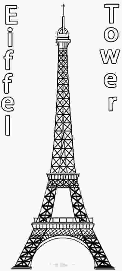 paris coloring pictures printable eiffel tower coloring pages for kids cool2bkids