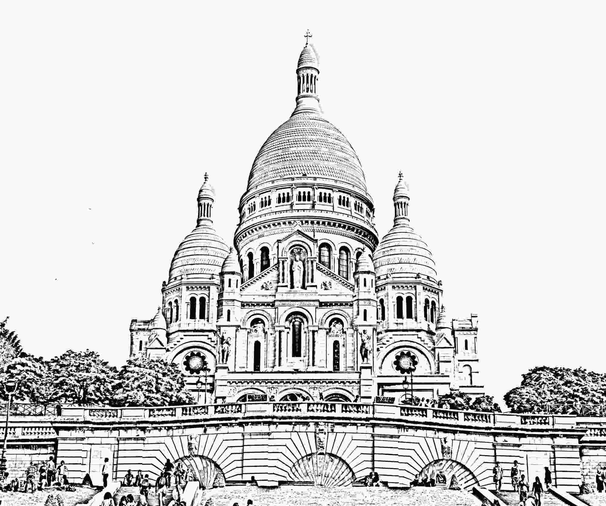 paris coloring pictures to print this free coloring page 171coloringsacrecoeur