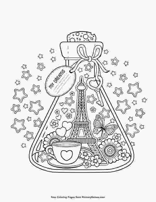paris coloring pictures valentines day coloring pages ebook paris city of love