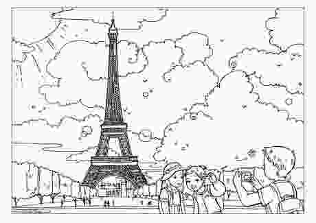 paris coloring pictures week 5 geography fun paris amp france activity pages from