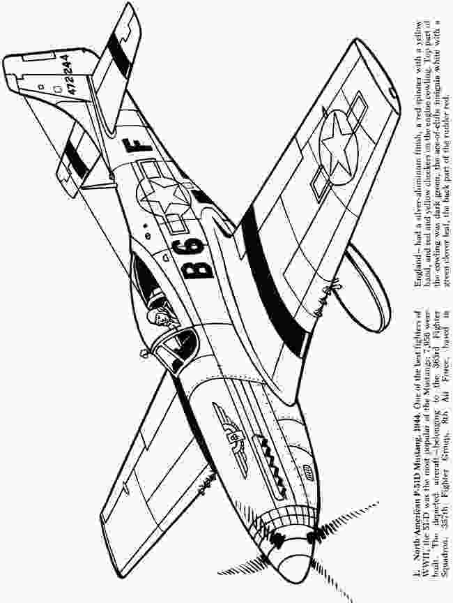 world war 2 coloring pages printable airplanes of the second world war coloring book dover