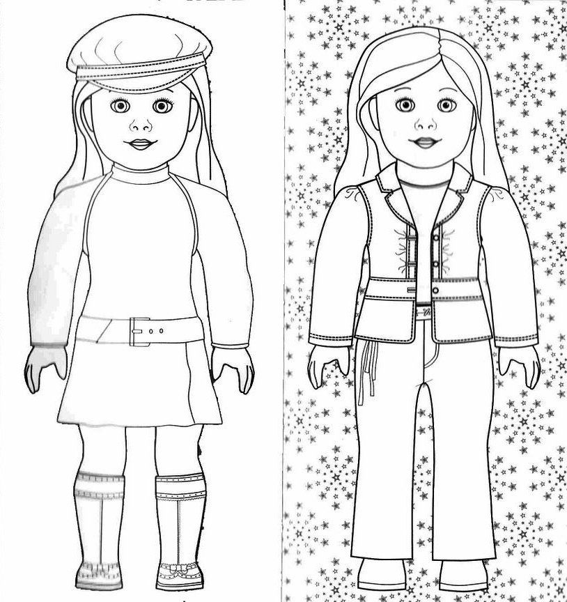 american girl printable coloring pages american girl mckenna coloring page free printable printable coloring girl american pages