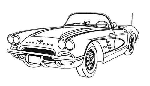 car sketch for coloring how to draw an old car old car step by step cars draw car coloring sketch for