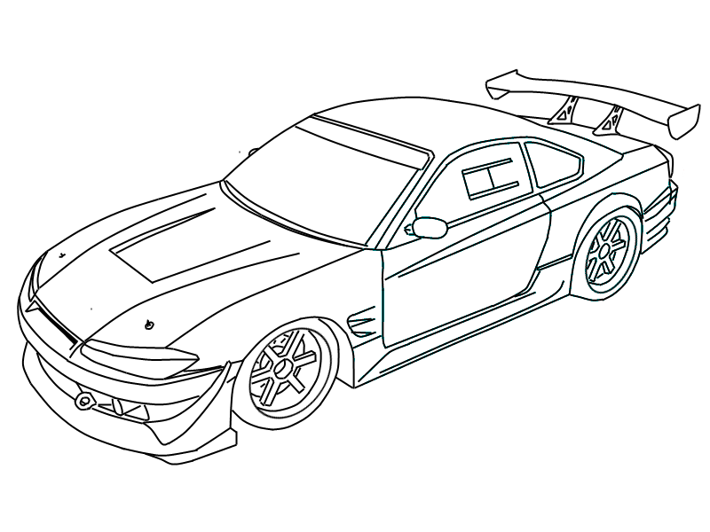 car sketch for coloring nissan altima hybrid coloring page free printable dd for coloring car sketch