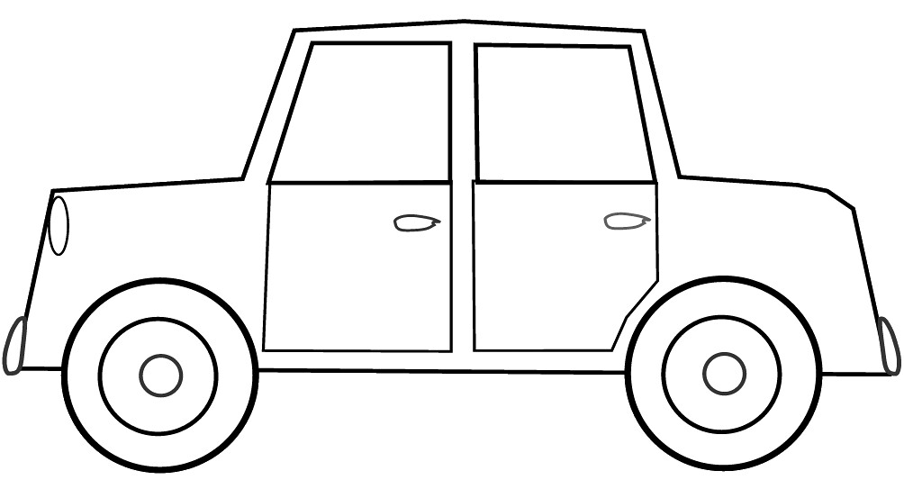 car sketch for coloring smart car drawing at getdrawingscom free for personal sketch car coloring for